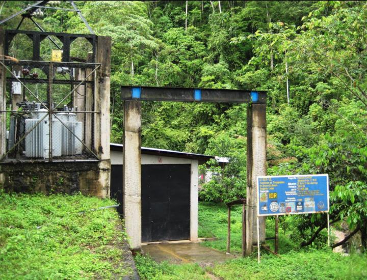 Hydroelectric Plant in El Bote