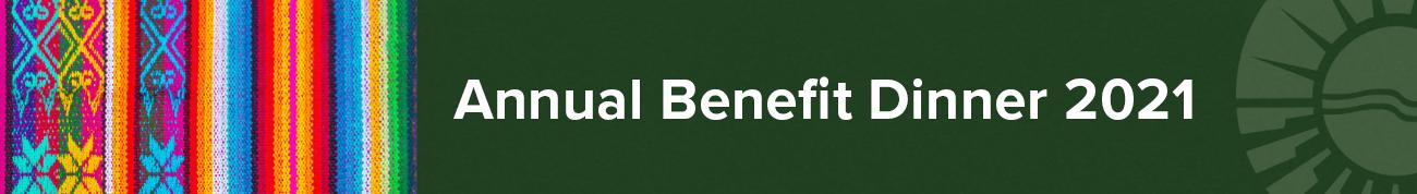 Benefit Dinner Banner